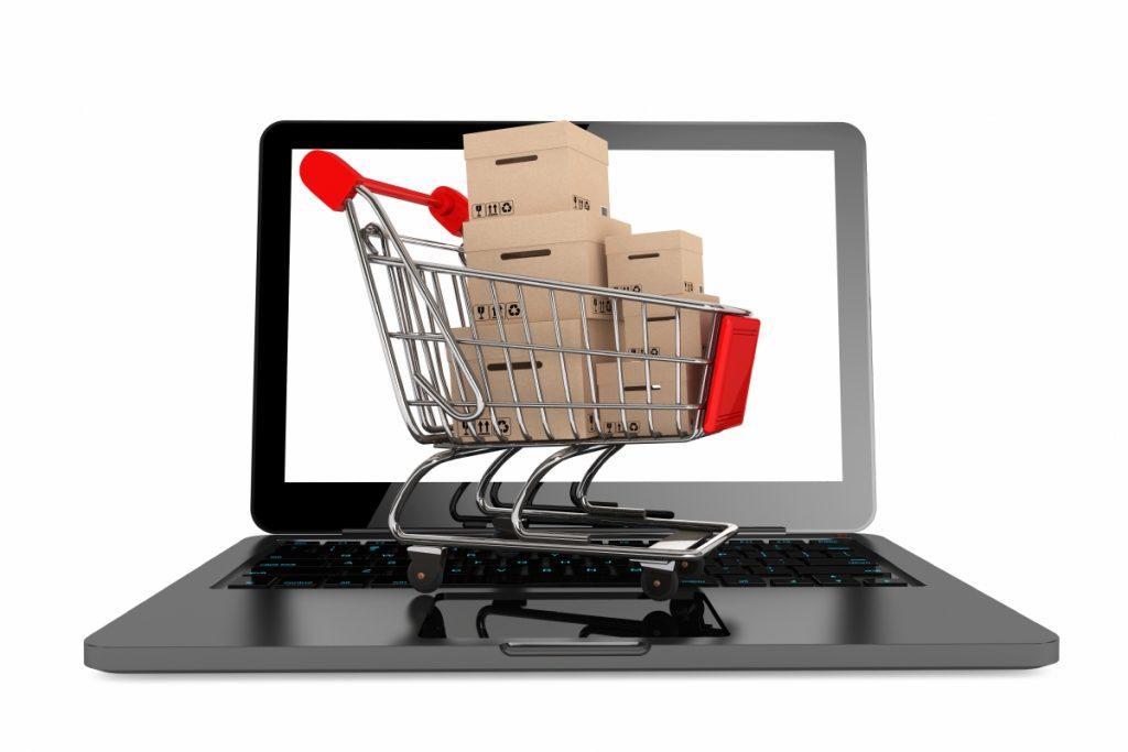 Торговля в интернете в картинках