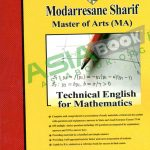 زبان تخصصی ریاضی مدرسان شریف